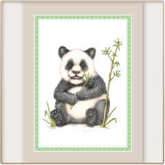 Panda Notecards