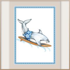 Great White Shark Notecards